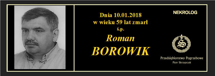 You are currently viewing Roman Borowik