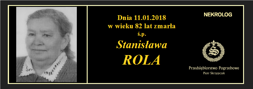 You are currently viewing Stanisława Rola