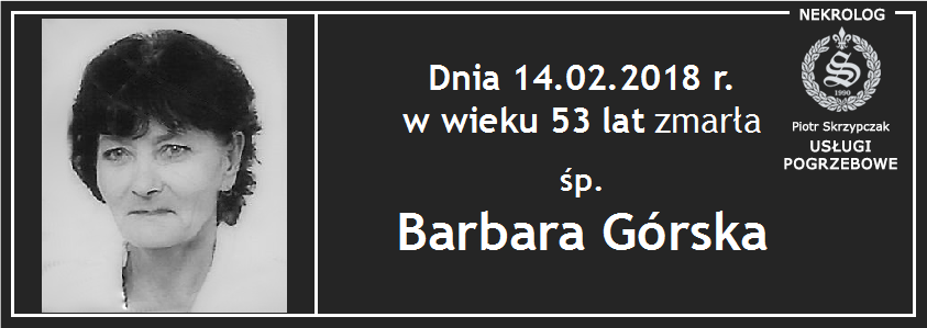 You are currently viewing Barbara Górska