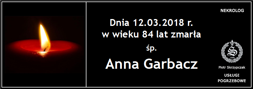 You are currently viewing Anna Garbacz