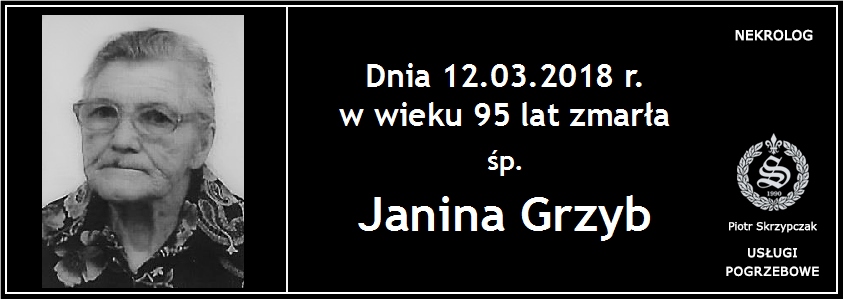 You are currently viewing Janina Grzyb