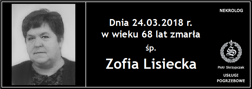 You are currently viewing Zofia Lisiecka
