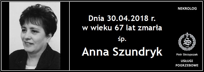 You are currently viewing Anna Szundryk