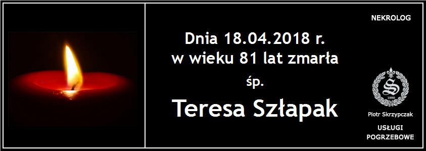 You are currently viewing Teresa Szłapak