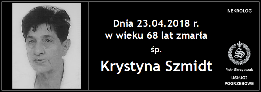 You are currently viewing Krystyna Szmidt