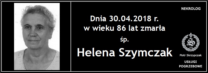 You are currently viewing Helena Szymczak