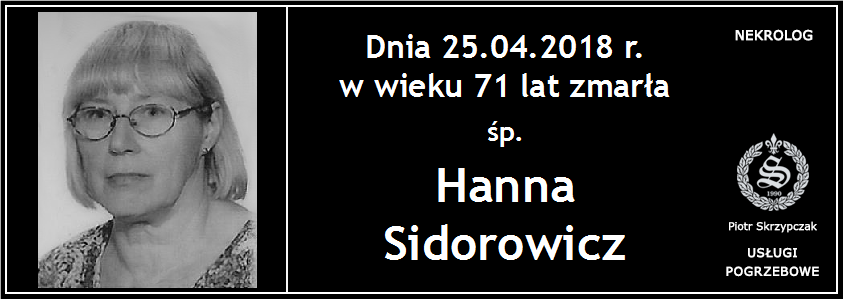 You are currently viewing Hanna Sidorowicz