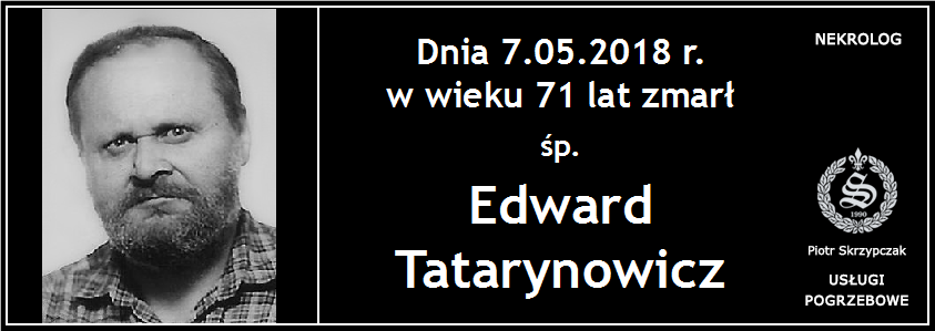 You are currently viewing Edward Tatarynowicz