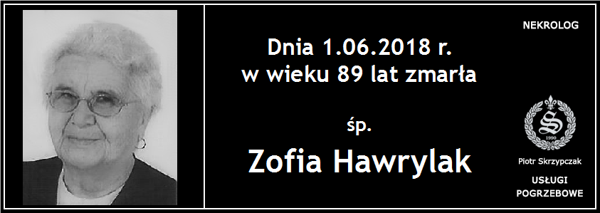 You are currently viewing Zofia Hawrylak