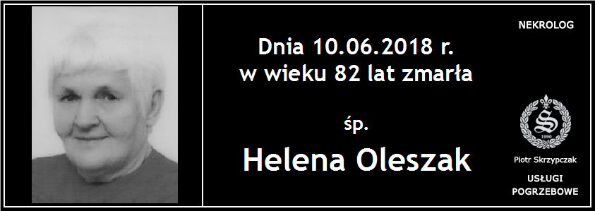 You are currently viewing Helena Oleszak