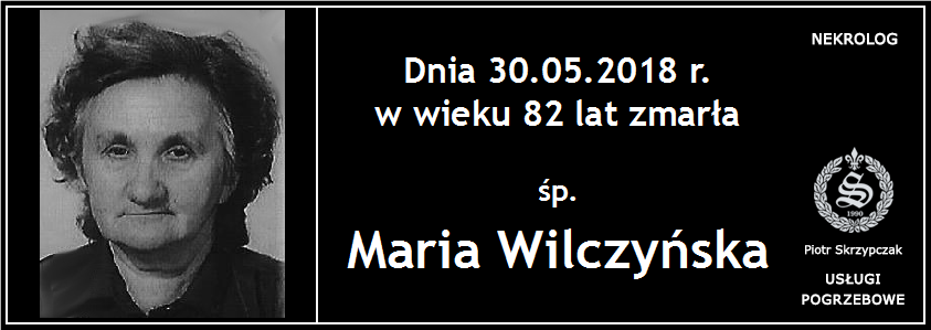 You are currently viewing Maria Wilczyńska
