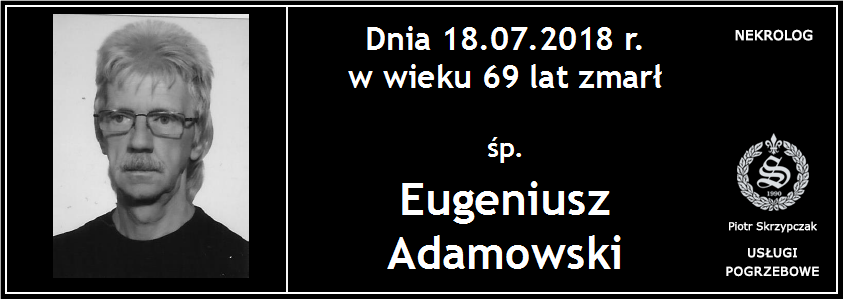 You are currently viewing Eugeniusz Adamowski