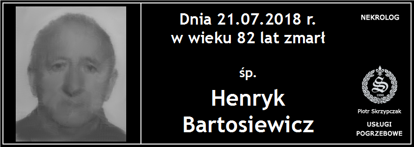 You are currently viewing Henryk Bartosiewicz