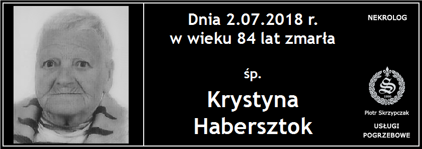 You are currently viewing Krystyna Habersztok