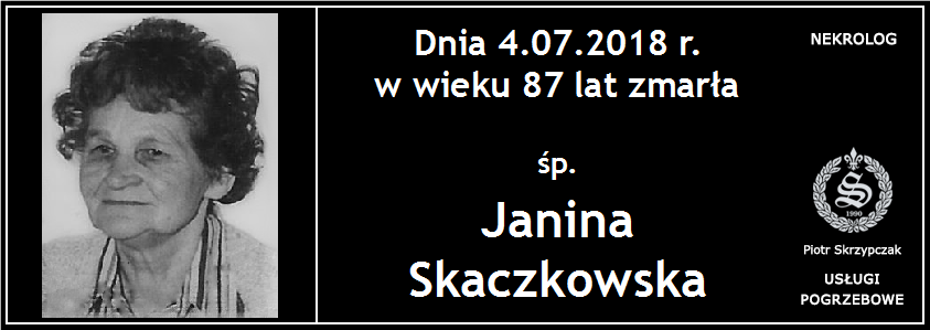 You are currently viewing Janina Skaczkowska