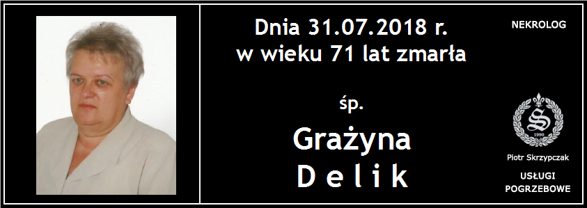 You are currently viewing Grażyna Delik