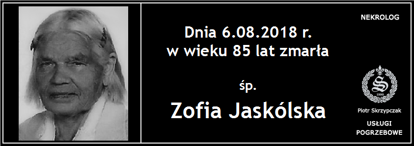 You are currently viewing Zofia Jaskólska
