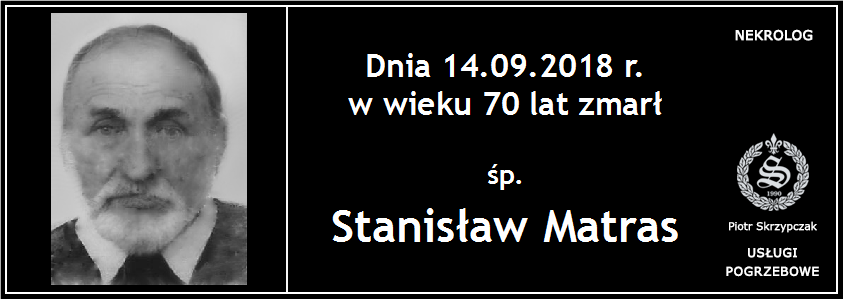 You are currently viewing Stanisław Matras