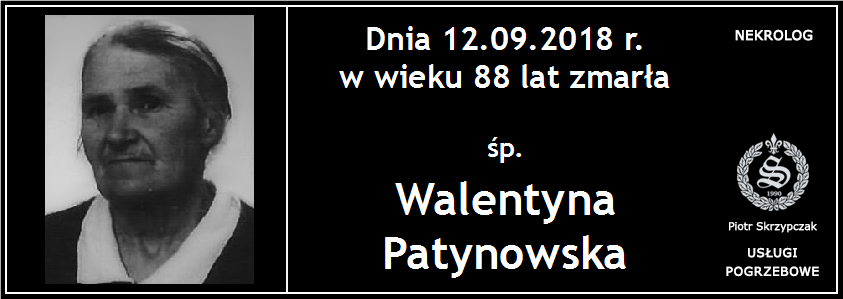 You are currently viewing Walentyna Patynowska