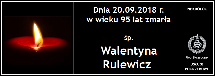 You are currently viewing Walentyna Rulewicz