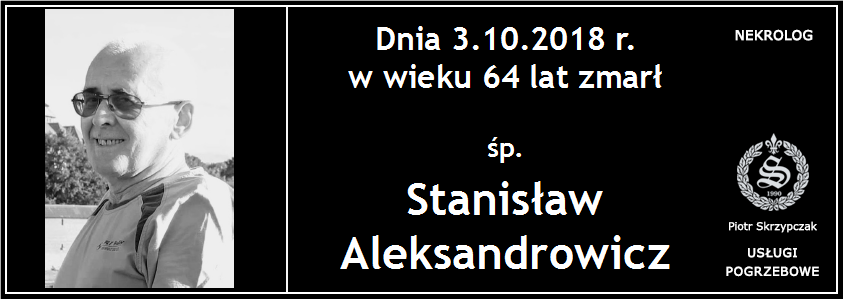 You are currently viewing Stanisław Aleksandrowicz