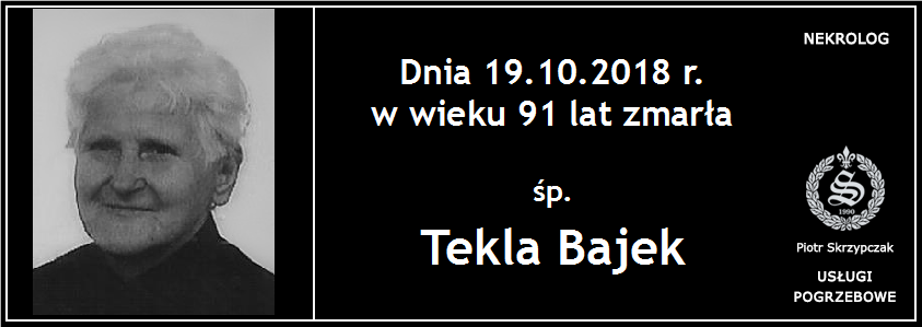 You are currently viewing Tekla Bajek