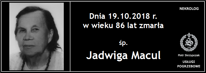 You are currently viewing Jadwiga Macul