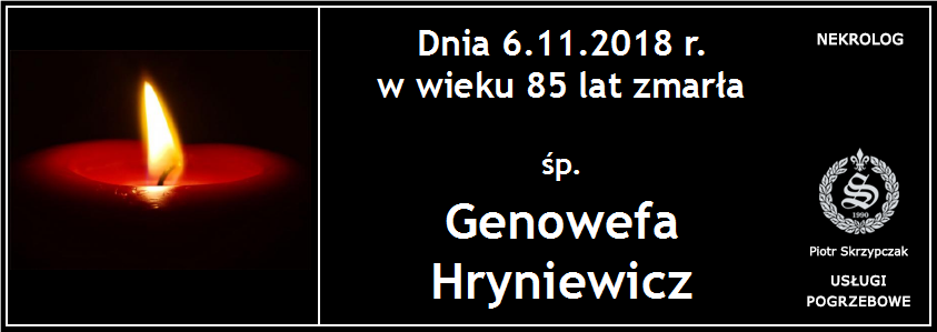 You are currently viewing Genowefa Hryniewicz