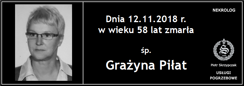 You are currently viewing Grażyna Piłat