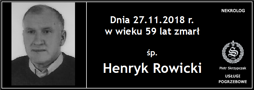 You are currently viewing Henryk Rowicki