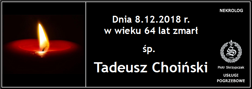 You are currently viewing Tadeusz Choiński