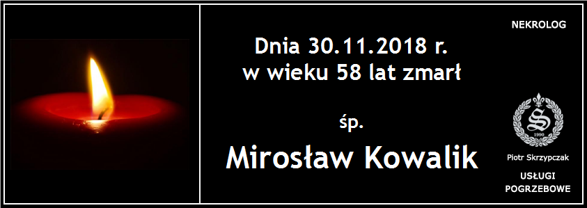 You are currently viewing Mirosław Kowalik