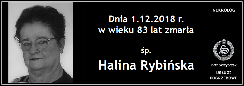 You are currently viewing Halina Rybińska