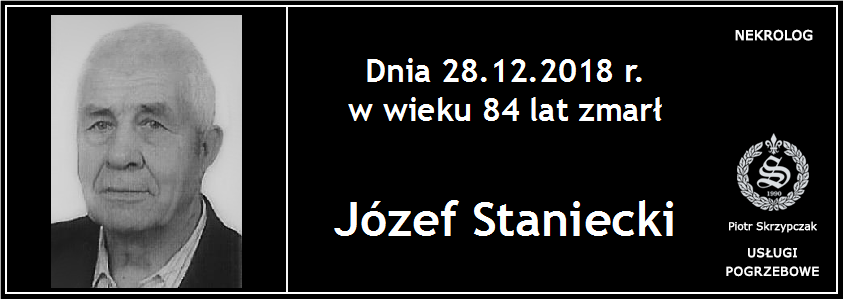 You are currently viewing Józef Staniecki