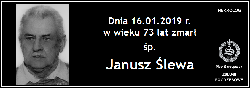 You are currently viewing Janusz Ślewa