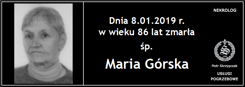 You are currently viewing Maria Górska