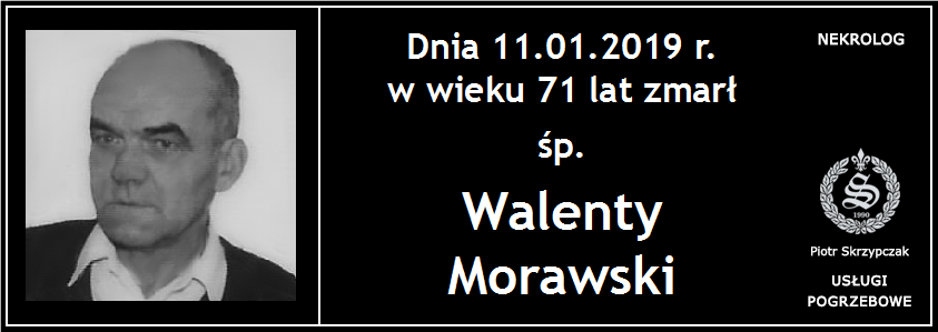 You are currently viewing Walenty Morawski