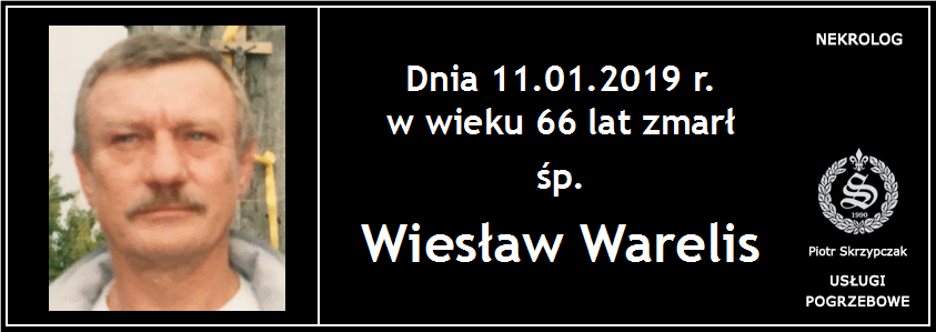 You are currently viewing Wiesław Warelis