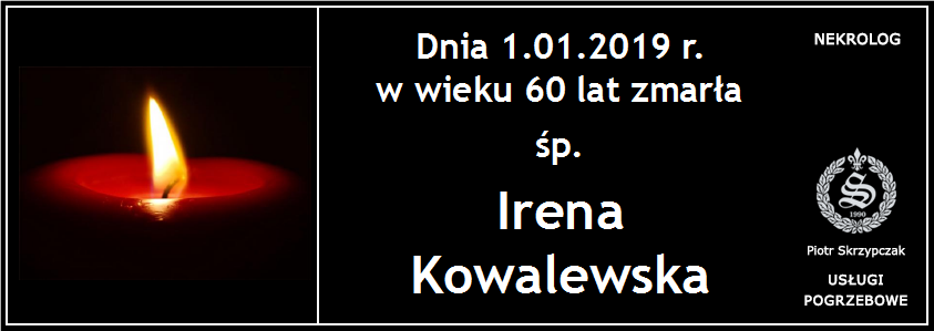 You are currently viewing Irena Kowalewska