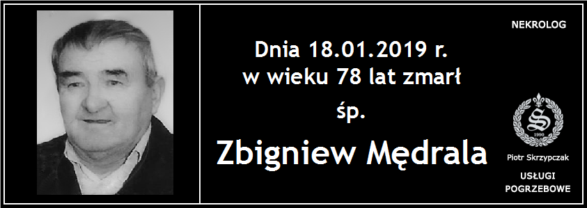 You are currently viewing Zbigniew Mędrala