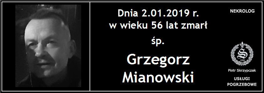 You are currently viewing Grzegorz Mianowski