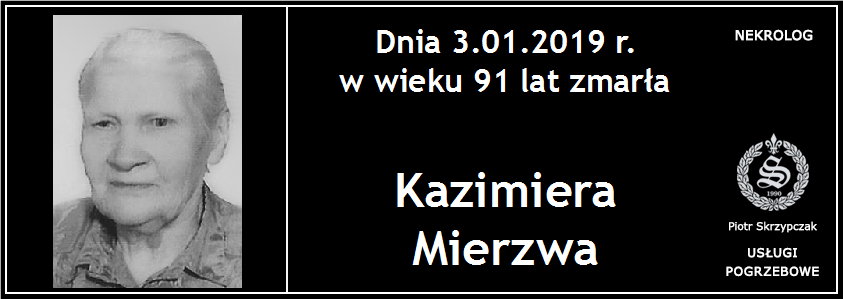 You are currently viewing Kazimiera Mierzwa