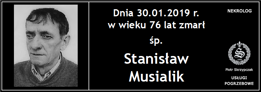 You are currently viewing Stanisław Musialik