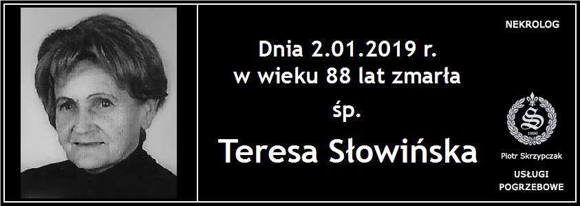 You are currently viewing Teresa Słowińska