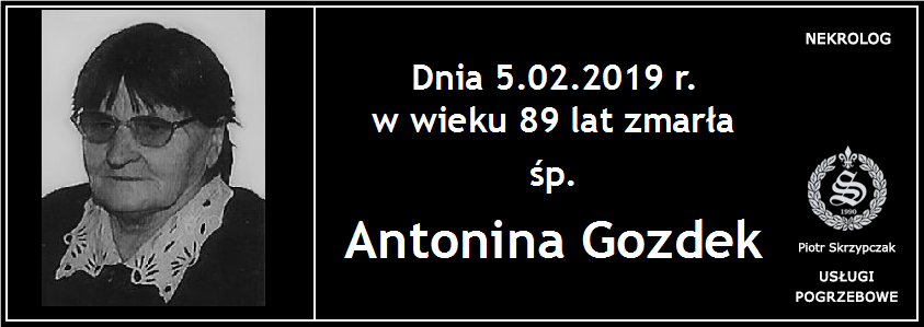 You are currently viewing Antonina Gozdek