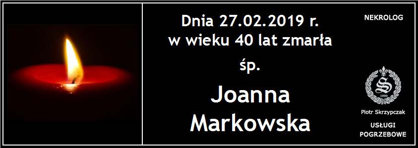 You are currently viewing Joanna Markowska