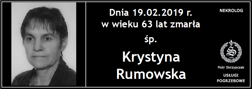 You are currently viewing Krystyna Rumowska