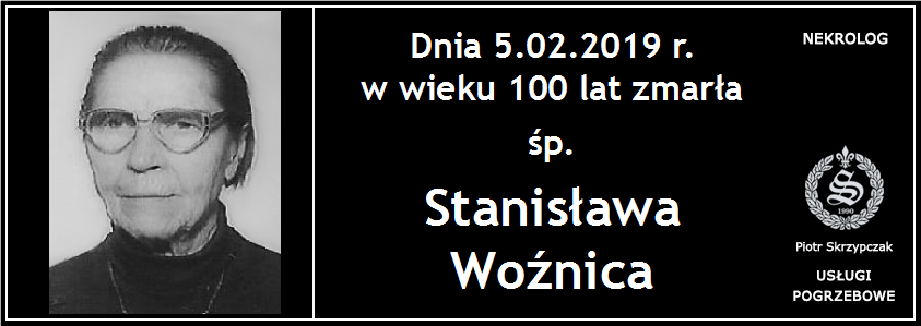 You are currently viewing Stanisława Woźnica