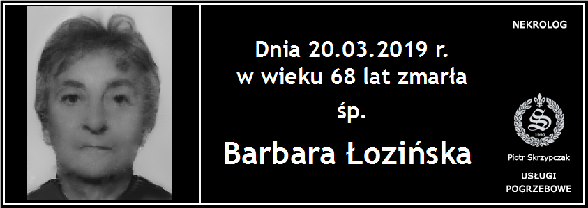 You are currently viewing Barbara Łozińska