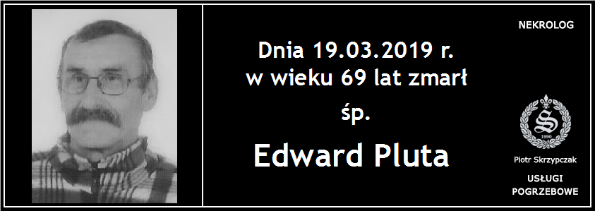 You are currently viewing Edward Pluta